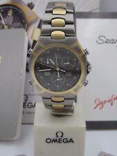 L430 ⭐⭐Vintage Omega Seamaster Cronógrafo Titanio / Oro 750 Reloj de Pulsera⭐⭐