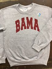 Bama Sweatshirt University of Alabama Crimson Tide Crew Neck