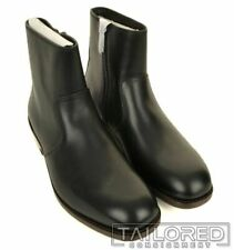 NWB $395 - COACH West Leather Black Mens Shoes Zip Ankle Boots G1638 - Size 11.5