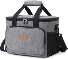 Large Lunch Bag Insulated Lunch Box Soft Cooler Cooling Tote For Adult Men Women