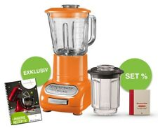 KitchenAid Artisan Blender SET inkl. Glas- und Küchenbehälter Orange - Tangerine