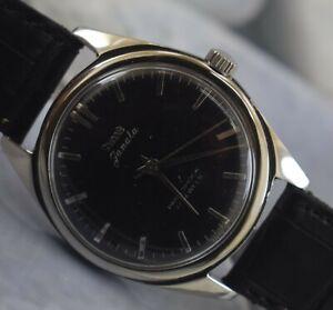 Vintage HMT Janata 17Jewels Winding Working Wrist Watch For Men's Wear B-752