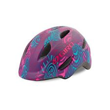 Giro Scamp Cycling Helmet (Matte Purple Blossom / Kid's / X-Small Size)