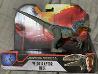 2020 Jurassic World  Savage Strike - Velociraptor Blue - Mattel - Dinosaur