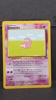 Slowpoke 55 Fossil Set Common Pokemon Card Near Mint