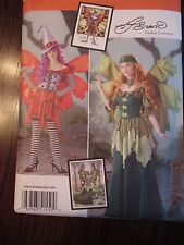 FAIRY Costume Sewing Pattern Fantasy SIMPLICITY #1550 Sew Amy Brown 6-14 --NEW