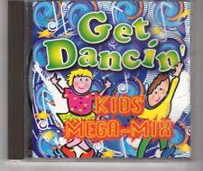 (HM817) Get Dancin', Kids' Mega-mix - 1999 CD