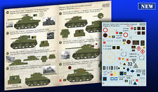 Print Scale - 35-004 - Decal for Sherman Tanks - 1:35