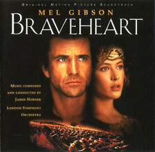 James Horner Performed CD Braveheart (B.O.) - Europe (EX/EX)