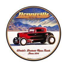 Larry grossman Bonneville utah EE. UU. salt flats 1914 retro sign chapa escudo Escudo