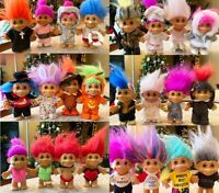 """Russ Berrie & Co. Troll Dolls 5"""" (Lot of 24, some rare, vintage collectibles!!)"""