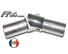 Articulation interne 90° Tube de 22mm Avec Epaisseur 1.5mm inox 316