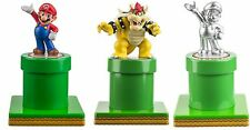 3x NEW Official amiibo Super Mario Warp Pipe Display Stand Wii U 3DS XL Switch