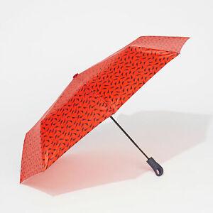 Nautica Womens J-Class Print Umbrella