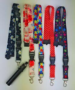 SpiriuS universal Holder For any vape E cig &  Lanyard Neck Strap multicoloured