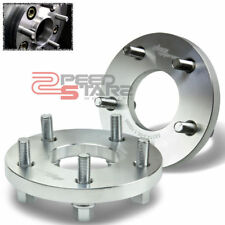 FOR HONDA M12 x1.5 15MM THICK ALUMINUM 5x114 LUG BOLT WHEEL SPACER ADAPTER+BOLTS