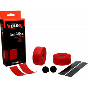 Handlebar Tape Red Soft Perforated Velox Vélofrance Bicycle #1446 Z21