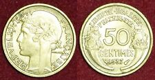 FRANCE 50 centimes 1937