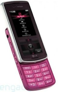 LG Venus VX8800 - PINK (Verizon) Cellular Phone poor cosmetic condition