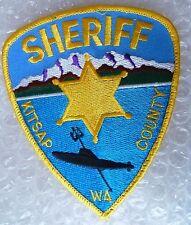 Patch- Sheriff Kitsap County WA US Police Patch (NEW, apx. 115x95mm)