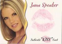 "Benchwarmer 2003 Gold Edition -  ""Jana Speaker"" Kiss Card"
