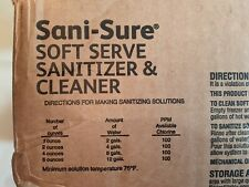 Diversey 90234 Sani-Sure Soft Serve Sanitizer And Cleaner - 46/ Cs