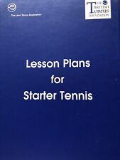 LTA Lesson Plans For Starter Tennis