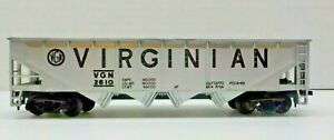 HO SCALE ~ VIRGINIAN 4-BAY OPEN HOPPER CAR VGN #2610