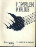 Ferdinando Carulli - Gitarrenschule