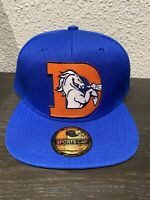 DENVER BRONCOS NFL THROWBACK Helmet Logo Embroidered Hat Cap Snapback NEW