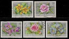 AUSTRIA 1964 Old Beautiful Stamps - Flowers of Austria
