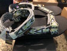 NEW IN BOX Teva Mens Original Universal Mashup Grey SIZE 9 Sandals Flip Flops