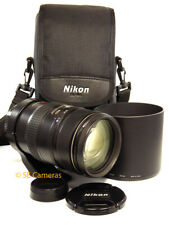 NIKON AF VR NIKKOR 80-400MM F4.5-5.6 D ED ZOOM LENS *EXCELLENT CONDITION*