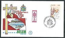 1980 VATICANO VIAGGI DEL PAPA BRASILE BELEM - EV