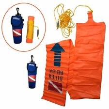 Scuba Diving SMB Open Circuit Surface Ascending Tube Signal Safety Boat Tracker