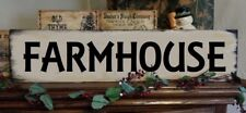 Primitive Sign FARMHOUSE Country Sign Home Decor Barn Farm Animals Welcome