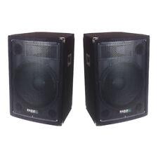 """Ibiza Sound Disco 12B 12"""" 600W PA Speaker Sound System DJ Pair"""