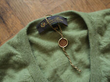 NWT Loro Piana 100% cashmere green knitwear sweater size IT 48 jumper pullover