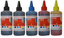 500ml Bulk refill ink for Brother LC51 LC61 LC71 LC103 refillable cartridge CISS