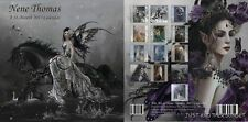 Art of Nene Thomas Fairy Faery 2013 Wall Calendar Faeries SIGNED AUTOGRAPH New