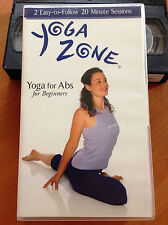 YOGA ZONE - YOGA FOR ABS FOR BEGINNERS - VHS