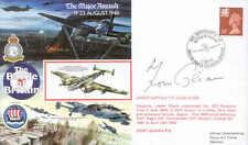 RAFA 9 50th Anniversary Battle of Britain BoB RAF signed WW2 Guinea Pig GLEAVE
