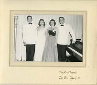 Vintage Photo - Boulder Colorado 1950 Formal - Chi O's