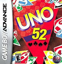 NEW UNO 52 Card Game for Game boy Advance (New Factory Sealed)