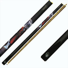 Queue de billard Canne de billards pool snooker en 2 elements Pirates Ref.6594