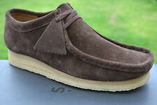 Clarks Originals BNIB Mens Shoes WALLABEE Dark Brown Suede UK 6.5 / 40