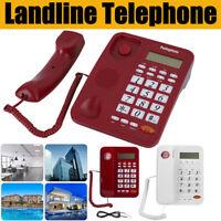 Desktop Phone Landline Telephone With Caller ID DTMFFSK For Home Office Hotel