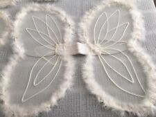 Angle Wings with Halos for Costumes 6 sets Marabou Trim Child Size