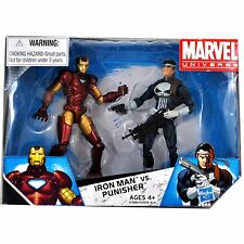 Marvel Universe Target Exclusive Action Figure 2 Pack Iron Man Vs. Punisher