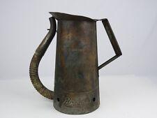 Vintage Original Brookins 2 Qt Oil Can w/ Flexible Spout Copper Clad